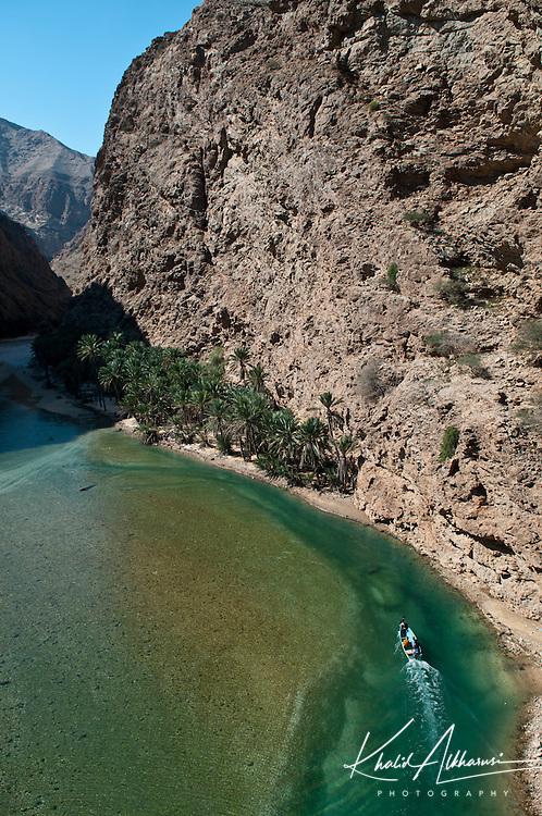 Wadi Shab lies Wilayat of Sur
