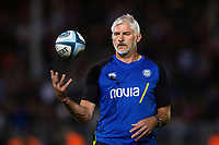Bath Director of Rugby Todd Blackadder looks on during the pre-match warm-up. Gallagher Premiership match, between Bath Rugby and Exeter Chiefs on October 5, 2018 at the Recreation Ground in Bath, England. Photo by: Patrick Khachfe / Onside Images