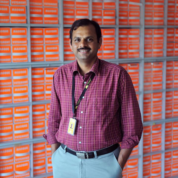 SIte ITER - membre de l'équipe d'ITER Organization : M. Syed Mahaboob Basha - Cadarache
