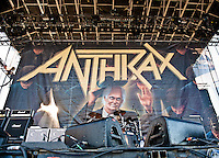 Anthrax performing at Heavy MTL 2011 in Montreal, QC.