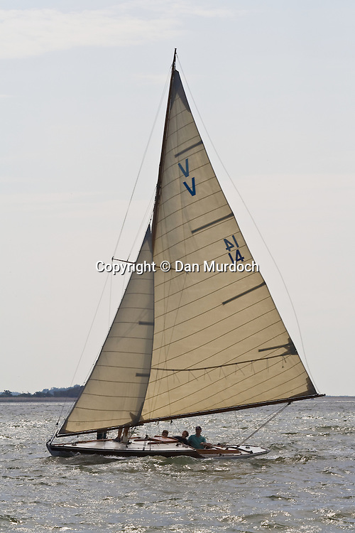 afternoon sail in a classic