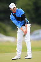 Kosuke Hamamoto of Team Thailand on the 7th green during Round 3 of the WATC 2018 - Eisenhower Trophy at Carton House, Maynooth, Co. Kildare on Friday 7th September 2018.<br /> Picture:  Thos Caffrey / www.golffile.ie<br /> <br /> All photo usage must carry mandatory copyright credit (&copy; Golffile | Thos Caffrey)