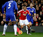 Anthony Martial of Manchester United in action - English Premier League - Manchester Utd vs Chelsea - Old Trafford Stadium - Manchester - England - 28th December 2015 - Picture Simon Bellis/Sportimage