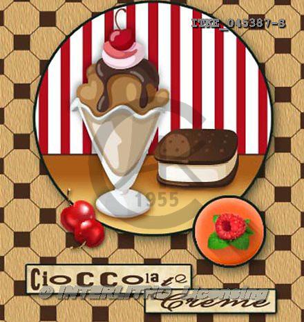Isabella, MODERN, paintings+++++,ITKE045387-S,#n# ice cream,cupcakes ,everyday