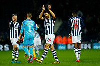 25th February 2020; The Hawthorns, West Bromwich, West Midlands, England; English Championship Football, West Bromwich Albion versus Preston North End; Ahmed Hegazi applauds the home fans after the final whistle