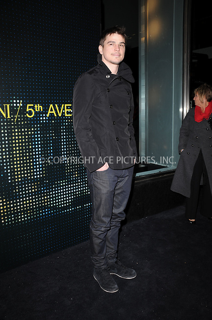 WWW.ACEPIXS.COM . . . . . ....February 17 2009, New York City....Actor Josh Hartnett arriving for the opening of the new Armani 5th Avenue store on February 17, 2009 in New York City.....Please byline: KRISTIN CALLAHAN - ACEPIXS.COM.. . . . . . ..Ace Pictures, Inc:  ..tel: (212) 243 8787 or (646) 769 0430..e-mail: info@acepixs.com..web: http://www.acepixs.com