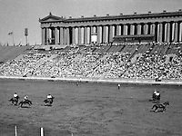 Rodeo at Soldier Field during the 1933 Chicago World's Fair. (Photographer Unknown/www.bcpix.com)