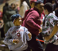 Stanford, CA - October 3, 2019: Fans at Laird Q Cagan Stadium. The Stanford Cardinal beat the Washington State Cougars 5-0.