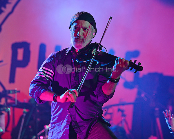 FORT LAUDERDALE FL - JUNE 10: Sergey Ryabtsev of Gogol Bordello performs at Revolution on June 10, 2016 in Fort Lauderdale, Florida. Credit: mpi04/MediaPunch