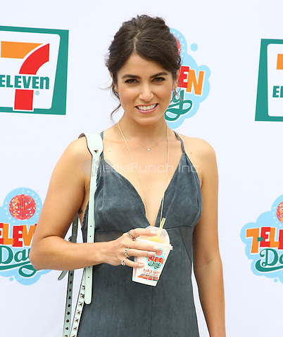 Nikki Reed arrives at the 7_Eleven 86th Birthday Party hosted by Nikki Reed in Malibu, California on July 9, 2013. <br /> © RTNBD/MediaPunch Inc.