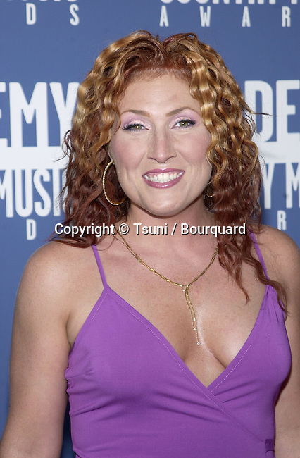 Jo Dee Messina arrives at the 36th Academy of Country Music Awards held at the Universal Amphitheater in Los Angeles, CA, Wednesday, May 9, 2001. MessinaJoDee10.jpg