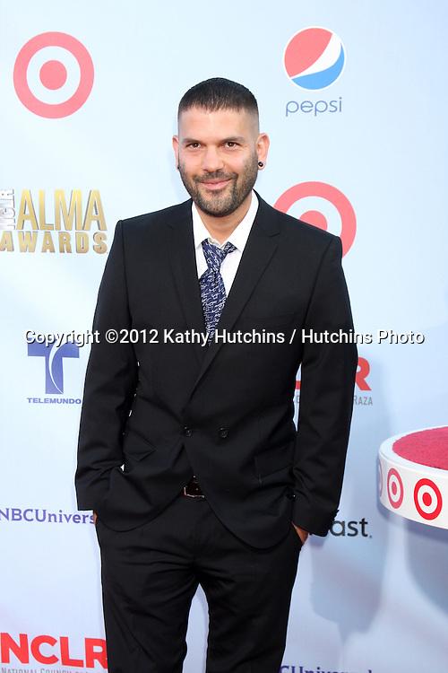 LOS ANGELES - SEP 16:  Guillermo Díaz arrives at the 2012 ALMA Awards at Pasadena Civic Auditorium on September 16, 2012 in Pasadena, CA