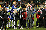 21 November 2010: MLS Commissioner Don Garber (right) shakes hands with Dallas' Brek Shea (left) during pregame introductions. The Colorado Rapids defeated FC Dallas 2-1 in overtime at BMO Field in Toronto, Ontario, Canada in MLS Cup 2010, Major League Soccer's championship game.