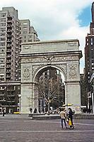 New York City: Washington Square--The Memorial Arch, 1889-92.  Photo '78.
