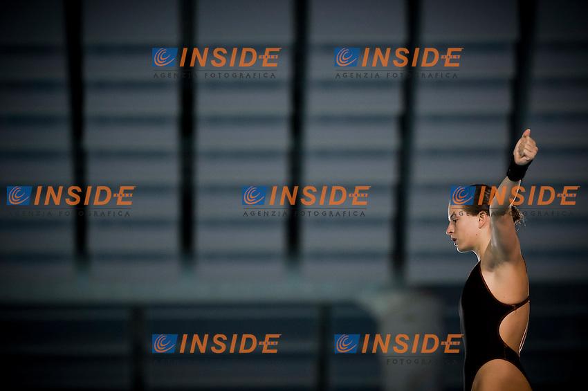 Noemi Batki (ITA)..Platform 10m F - preliminaries..Eindhoven (Netherlands), 16/05/2012, Pieter Van Den Hoogenband Swiming Stadium..Diving Tuffi  ..Foto Insidefoto Giorgio Perottino