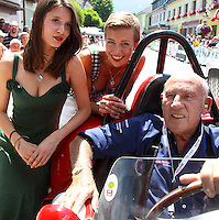 20.07.2013.  Ennstal Classic 2013 Grobming Austria  Picture shows Stirling Moss GBR and Girls