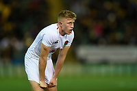 Ollie Fox of England U20 looks on. U20 Six Nations match, between England U20 and Scotland U20 on March 15, 2019 at Franklin's Gardens in Northampton, England. Photo by: Patrick Khachfe / JMP