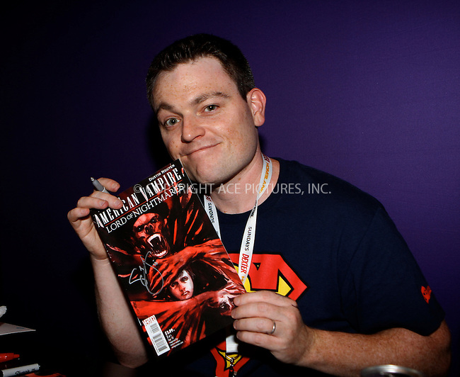 WWW.ACEPIXS.COM....October 14 2012, New York City....Scott Snyder at the 2012 New York Comic Con at the Javits Center on October 14, 2012 in New York City....By Line: Nancy Rivera/ACE Pictures......ACE Pictures, Inc...tel: 646 769 0430..Email: info@acepixs.com..www.acepixs.com