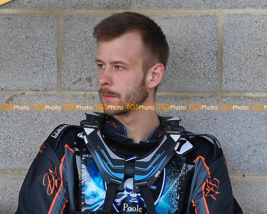 Nikolaj Busk Jakobsen of Poole Pirates during Poole Pirates vs King's Lynn Stars, SGB Premiership Shield Speedway at The Stadium on 11th April 2019