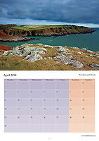 The Galloway Coastline Calendar is now into its 9th year of production. It is delivered A4 in size but opens out to A3 meaning the 12 images of the coastline can be viewed in all their stunning detail while the date pads provide loads of space to write. As always the calendar comes with its own envelope if you are wanting to send it to family or a friend. The price of the calendar is £6.50 which includes P+P within the UK. Please contact me if order is outwith the UK.