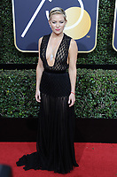 www.acepixs.com<br /> <br /> January 7 2018, LA<br /> <br /> Kate Hudson arriving at the 75th Annual Golden Globe Awards at The Beverly Hilton Hotel on January 7, 2018 in Beverly Hills, California.<br /> <br /> By Line: Peter West/ACE Pictures<br /> <br /> <br /> ACE Pictures Inc<br /> Tel: 6467670430<br /> Email: info@acepixs.com<br /> www.acepixs.com