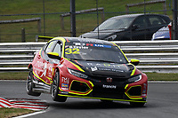 #32 Oliver TAYLOR (GBR) Pyro Motorsport Honda Civic Type-R TCR 2018  during TCR UK Championship as part of the BRSCC TCR UK Race Day Oulton Park  at Oulton Park, Little Budworth, Cheshire, United Kingdom. August 04 2018. World Copyright Peter Taylor/PSP. Copy of publication required for printed pictures.