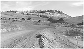 May be Old Baldwin, CO site located on bladed road.<br /> D&amp;RGW  Baldwin, CO  Taken by Richardson, Robert W. - 10/3/1952