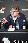 """Mexican director Guillermo del Toro during press conference of presentation of film 'The Shape of Water"""" during Sitges Film Festival in Barcelona, Spain October 05, 2017. (ALTERPHOTOS/Borja B.Hojas)"""