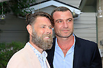 LOS ANGELES - MAY 15: Daniel Henning, Liev Schreiber at The Actors Fund's Edwin Forrest Day celebration at a private residence on May 15, 2016 in Sherman Oaks, California