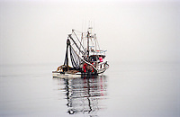 Seiner, F/V Venturess, fishing for salmon in Kodiak, Alaska