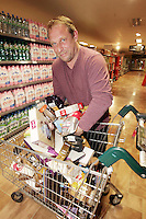 09/06/14<br /> Supermarket dash prize winner Herbie Birch pictured at Dunnes Stores ,Donaghmede where he took part in the challenge to fill  as many trollies as possible&hellip;.<br /> Collins Photos