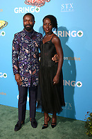 "LOS ANGELES - MAR 6:  David Oyelowo, Lupita Nyong'o at the ""Gringo"" Premiere at Regal LA Live on March 6, 2018 in Los Angeles, CA"