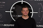 US actor Matt Damon  attends the photocall of 'Jason Bourne' in Madrid, Spain. July 13, 2016. (ALTERPHOTOS/Marcos Menendez)