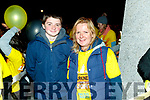 Sean McCarthy and Ann-Marie O'Donoghue, Tralee, who took part in the Darkness Into Light walk, Tralee, on Saturday last.