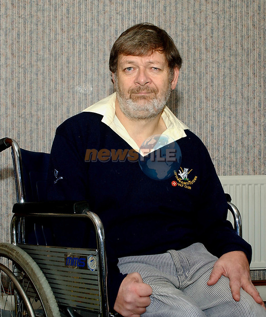 Patrick Gogarty, Alverno Heights, Laytown who was injured in a hit and run accident on the Bettystown-Laytown road on Christmas Eve 2002 while coming home accompanied by his mother.