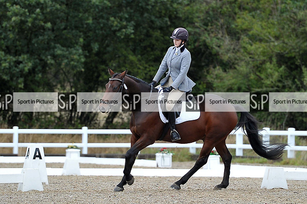 Stapleford Abbotts. United Kingdom. 06 October 2019. Arena 3. Essex Riding Club Winter Dressage & Combined Training Qualifiers. Brook Farm training centre. Essex. UK. Credit Ellen Szalai/Sportinpictures.~ 06/10/2019.  MANDATORY Credit Garry Bowden/SIP photo agency - NO UNAUTHORISED USE - 07837 394578
