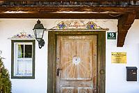 Austria, Tyrol, Ellmau and Wilder Kaiser mountains -  location for TV series 'Der Bergdoktor'   Oesterreich, Tirol, Ellmau am Wilden Kaiser: Bergdoktorhaus