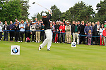 Simon Dyson (ENG) tees off on the 11th tee during Day 3 of the BMW PGA Championship Championship at, Wentworth Club, Surrey, England, 28th May 2011. (Photo Eoin Clarke/Golffile 2011)