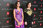 "Nadia Santiago and Macarena Gomez attend the Premiere of the movie ""Musaranas"" in Madrid, Spain. December 17, 2014. (ALTERPHOTOS/Carlos Dafonte)"