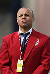04 June 2011: 2011 National Soccer Hall of Fame Inductee Earnie Stewart was honored before the game. The Spain Men's National Team defeated the United States Men's National Team 4-0 at Gillette Stadium in Foxborough, Massachusetts in an international friendly soccer match.