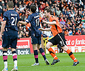 :: DUNDEE UTD'S JON DALY CELEBRATES AFTER HE SCORES UNITED'S WINNER :: .15/05/2011   Copyright  Pic : James Stewart.sct_jsp009_dundee_utd_v_hearts .James Stewart Photography 19 Carronlea Drive, Falkirk. FK2 8DN      Vat Reg No. 607 6932 25.Telephone      : +44 (0)1324 570291 .Mobile              : +44 (0)7721 416997.E-mail  :  jim@jspa.co.uk.If you require further information then contact Jim Stewart on any of the numbers above.........