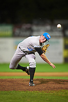 Hudson Valley Renegades relief pitcher Garrett Fulenchek (37) during a game against the Batavia Muckdogs on August 1, 2016 at Dwyer Stadium in Batavia, New York.  Hudson Valley defeated Batavia 5-1.  (Mike Janes/Four Seam Images)