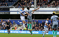forth goal scored for Queens Park Rangers by Jordan Hugill of Queens Park Rangers during Queens Park Rangers vs Blackburn Rovers, Sky Bet EFL Championship Football at Loftus Road Stadium on 5th October 2019