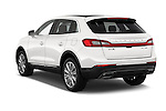 Car pictures of rear three quarter view of 2018 Lincoln MKX Black Label 5 Door Suv Angular Rear