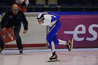SCHAATSEN: HEERENVEEN: 05-10-2013, IJsstadion Thialf, Trainingwedstrijd, ©foto Martin de Jong