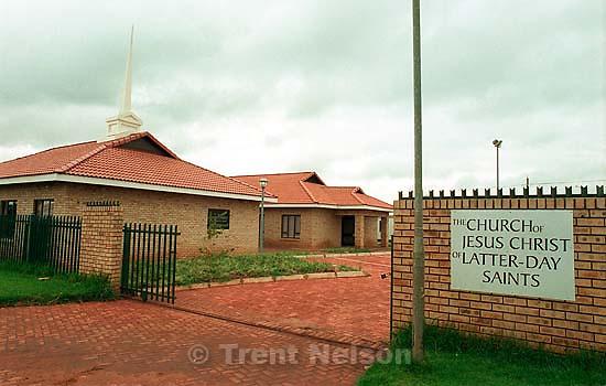 The Protea Glen LDS chapel.<br />