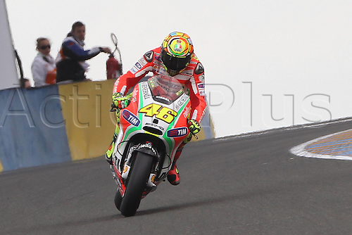 18 05 2012  18 05 2012 Le Mans FRA MotoGP MotoGP The picture shows  Valentino Rossi Ducati team