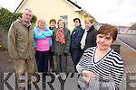 Bernie Griffin (Foreground) who was attacked at her home in Listowel with neighbours from left: Tim O'Leary, Lilah Stack, Margaret O'Donoghue, Thresa Healy, Christine Curtin and Margaret Dalton.