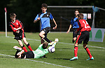 Action between FAB Academy v Rangers. Photo by Glenn Ashley