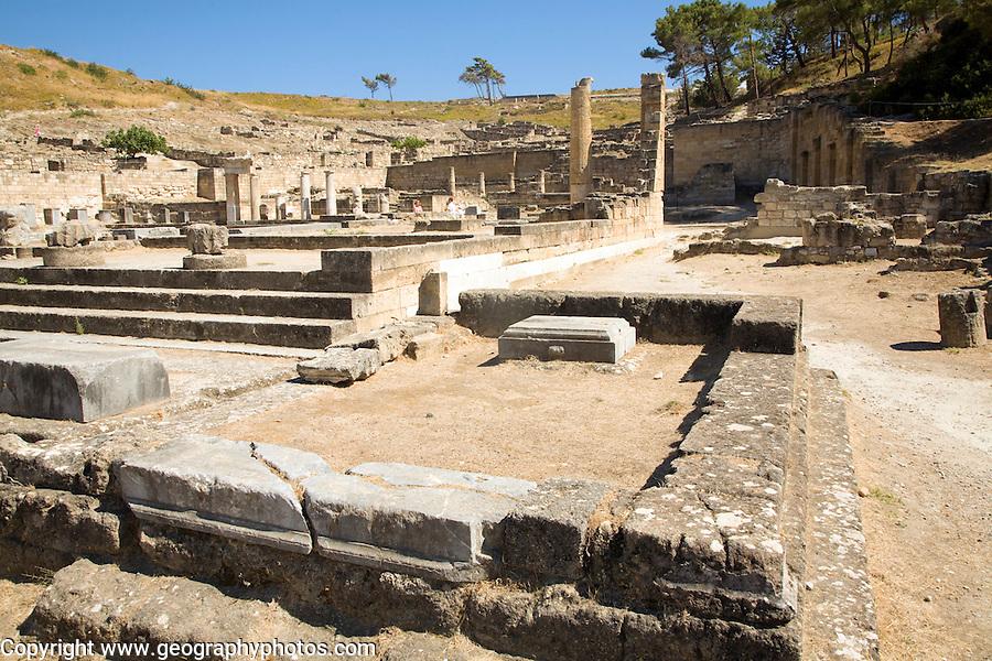 Ancient Kamiros, Rhodes, Greece